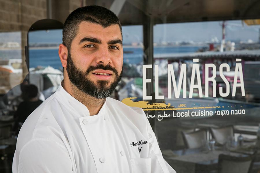 השף של מסעדת אלמרסא