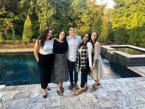 The Atlanta ShinShinim at their Airbnb | Photo provided by Yael