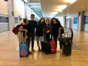 The ShinShinim on their way to Atlanta | Photo provided by Yael